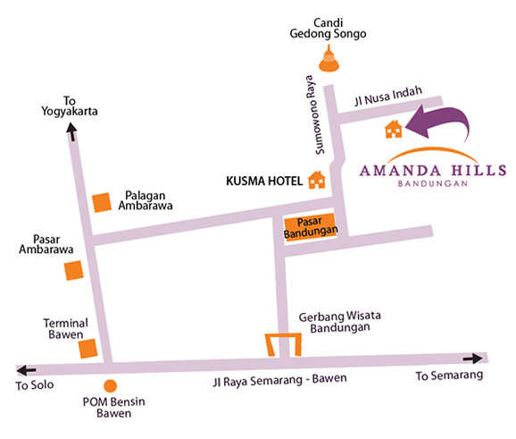 Amanda Hills Bandungan Semarang Hotel Resort Outbound